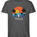 Herren Summer Sunset - Herren Premium Organic Shirt-6898