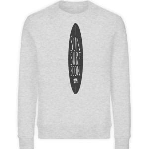 Sun Surf Soon - Unisex Organic Sweatshirt-6892
