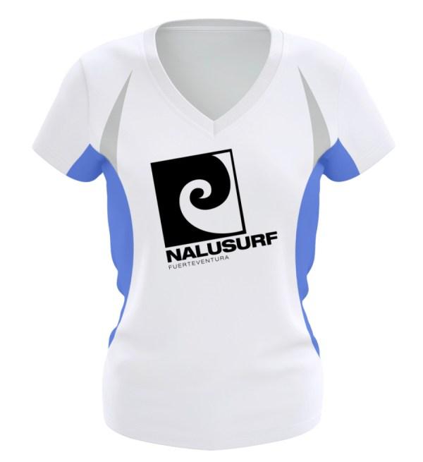 Nalusurf Fuerteventura Sport - Frauen Laufshirt tailliert geschnitten-6751