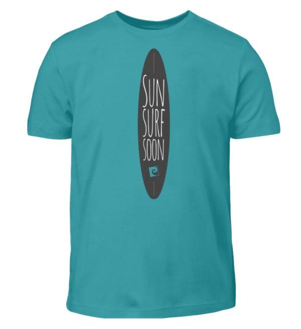 Sun Surf Soon - Kinder T-Shirt-1242