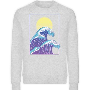Wave of Life - Unisex Organic Sweatshirt-6892