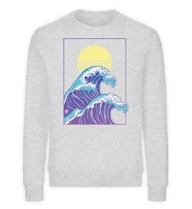 Wave of Life - Unisex Organic Sweatshirt-6892