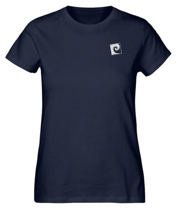 Textil Stick Nalu - Damen Premium Organic Shirt mit Stick-6887