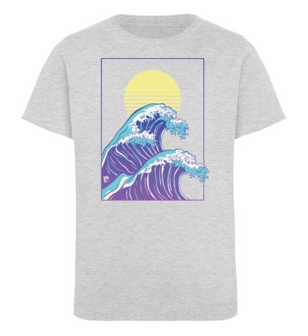 Wave of Life - Kinder Organic T-Shirt-6892