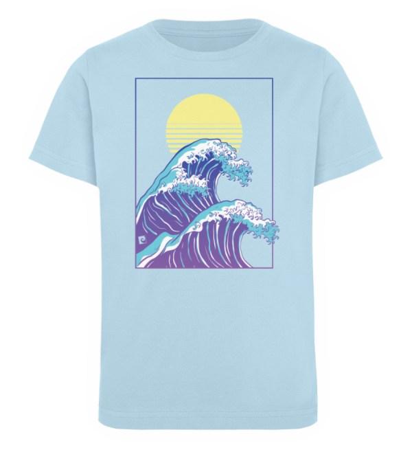 Wave of Life - Kinder Organic T-Shirt-6888