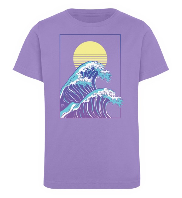 Wave of Life - Kinder Organic T-Shirt-6904