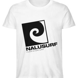 Nalusurf Fuerteventura - Herren Premium Organic Shirt-3