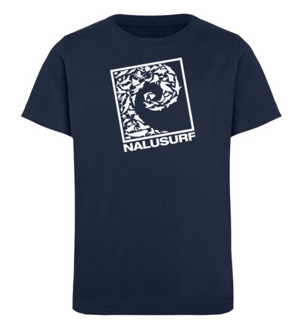 Nalusurf Ocean Life II - Kinder Organic T-Shirt-6887
