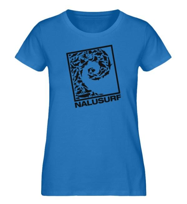 Nalusurf Ocean Life - Damen Premium Organic Shirt-6886