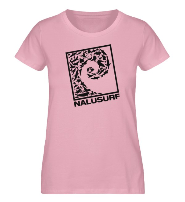 Nalusurf Ocean Life - Damen Premium Organic Shirt-6903