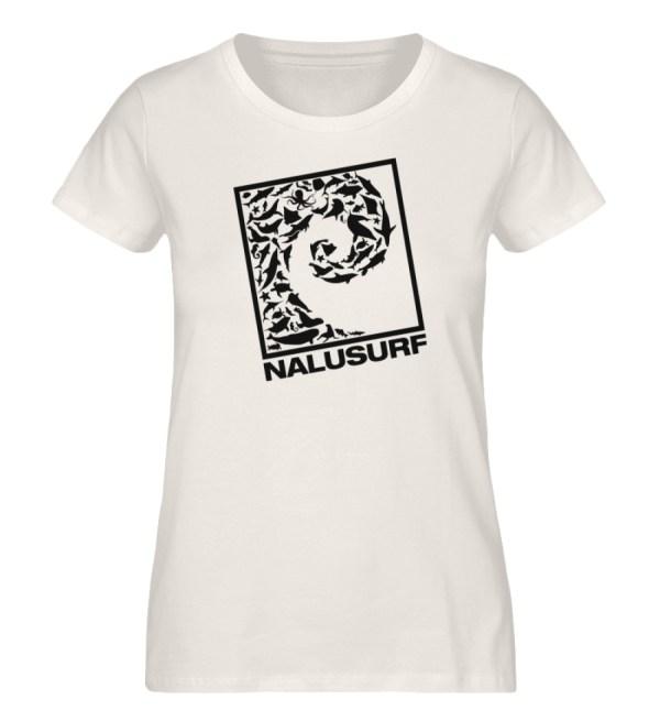 Nalusurf Ocean Life - Damen Premium Organic Shirt-6881