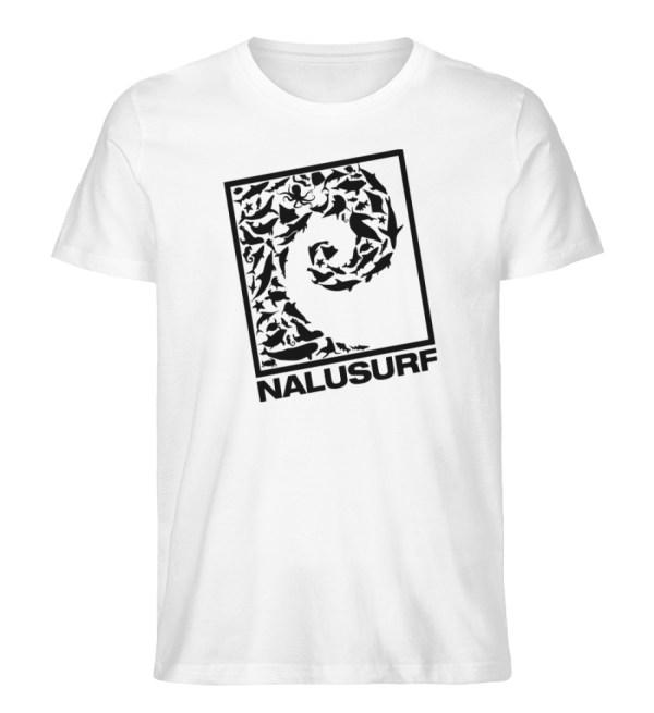 Nalusurf Ocean Life - Herren Premium Organic Shirt-3