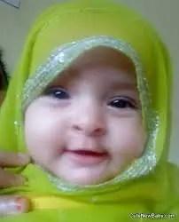 472 Nama Bayi Perempuan Islami Gabungan 2 Kata