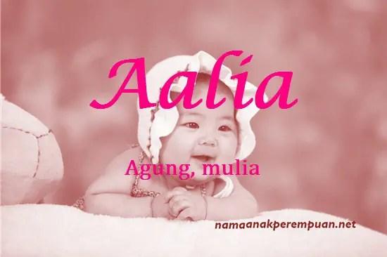 arti nama Aalia