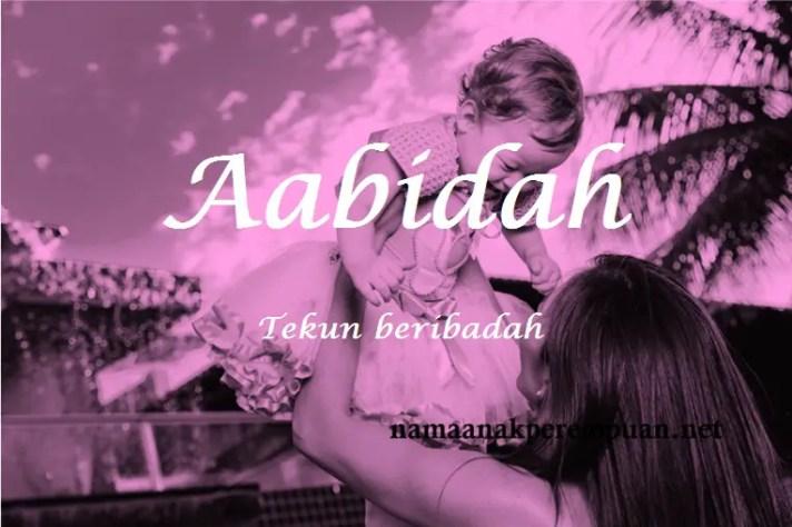 arti nama aabidah