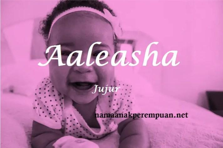 arti nama aaleasha