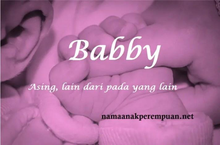 arti nama babby
