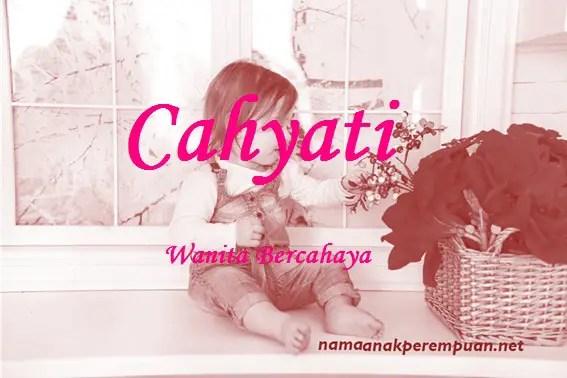 arti nama cahyati