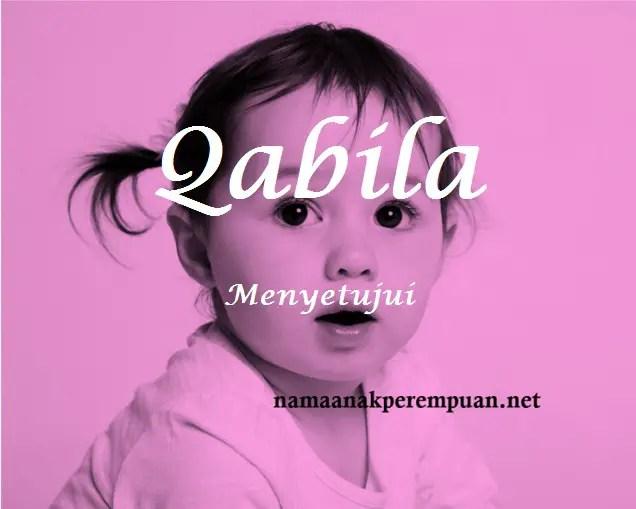 arti nama qabila