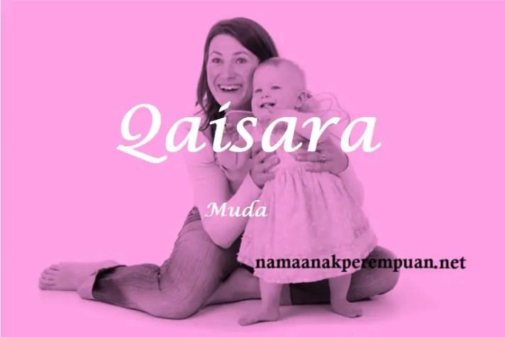 arti nama qaisara