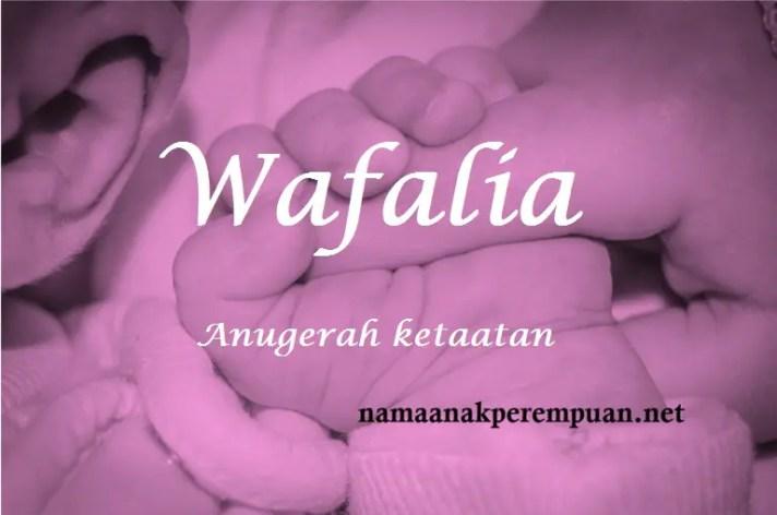 arti nama wafalia