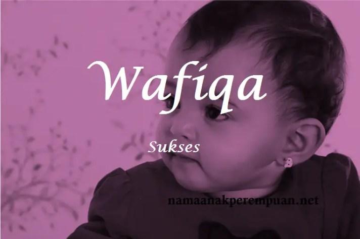 arti nama wafiqa