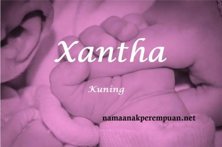 arti nama xantha