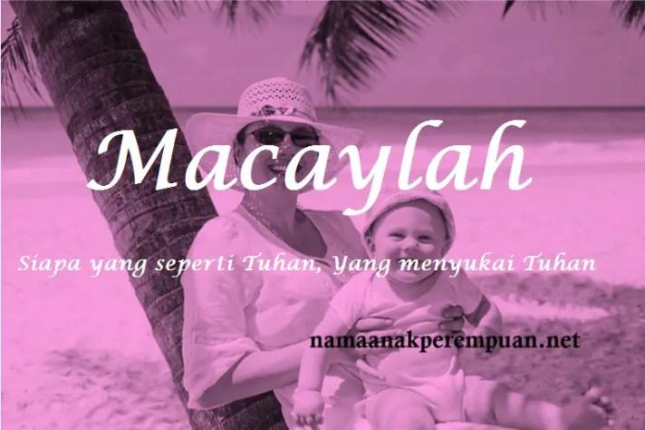 arti nama macaylah
