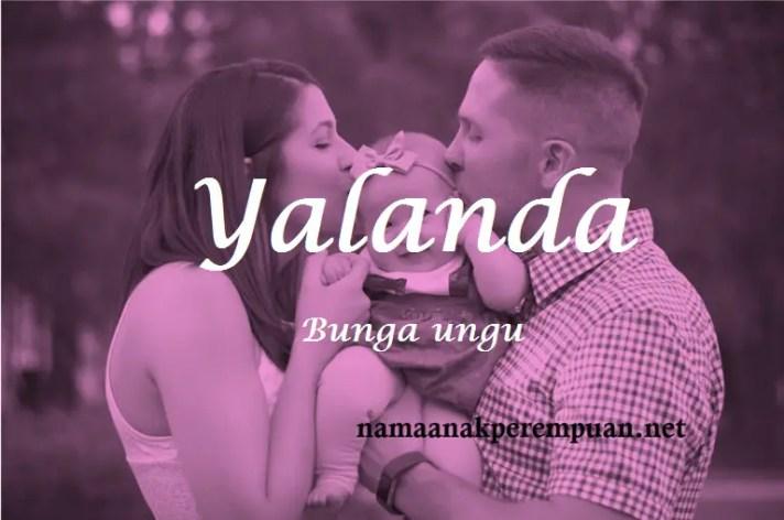 arti nama yalanda