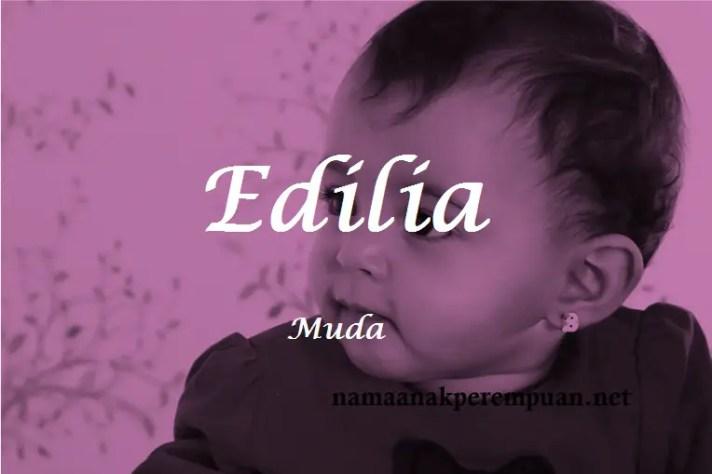 arti nama Edilia