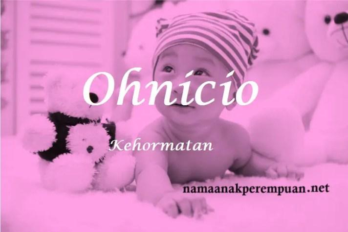 arti nama Ohnicio