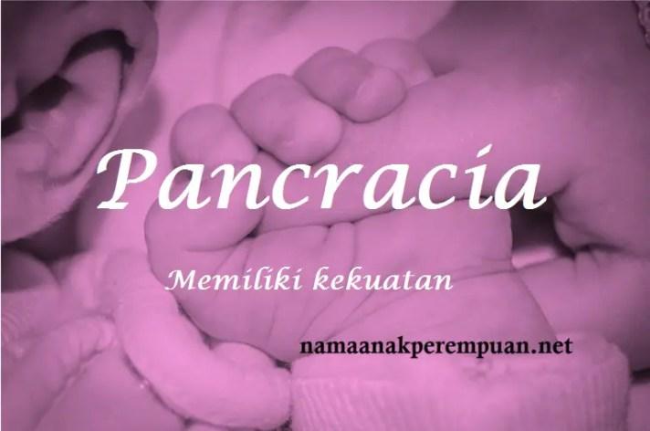 arti nama Pancracia