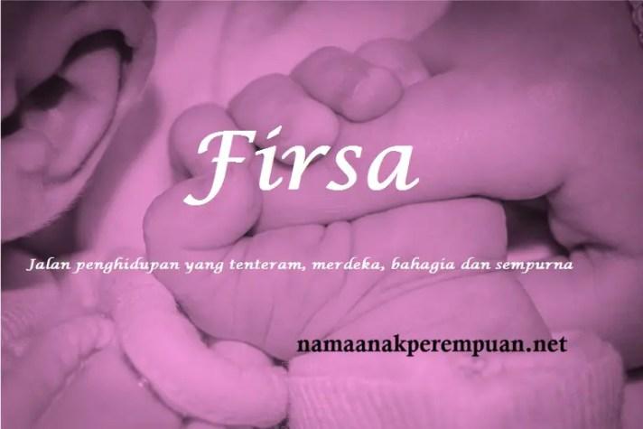 arti nama Firsa