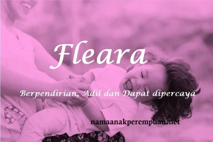 arti nama Fleara