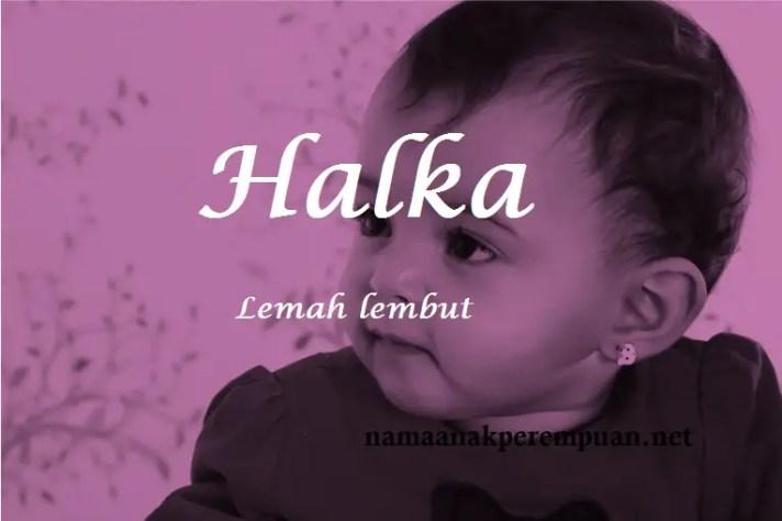 arti nama Halka