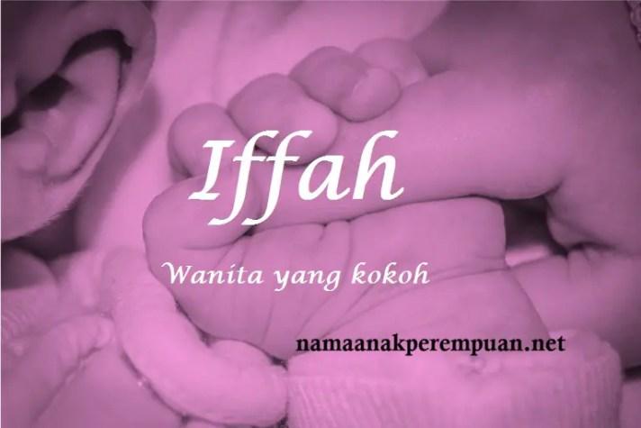 arti nama Iffah
