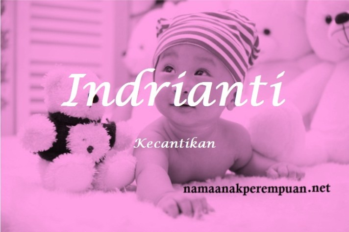 arti nama Indrianti