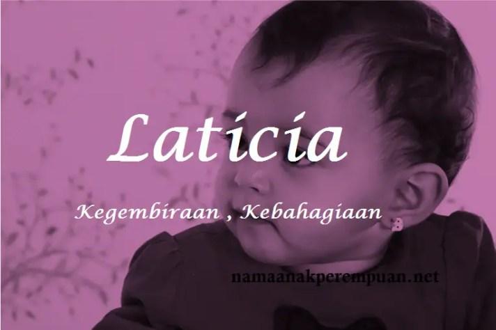 arti nama Laticia