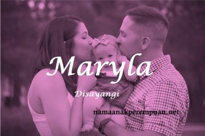 arti nama Maryla