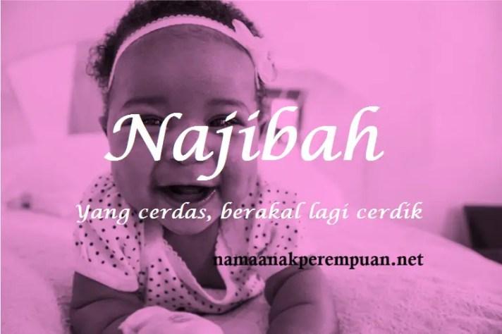 arti nama Najibah