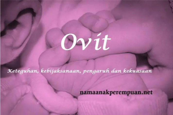 arti nama Ovit