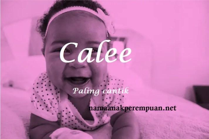 arti nama Calee