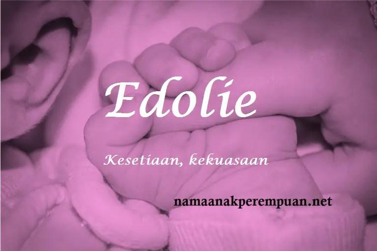 Nama Bayi Perempuan: Rangkaian Dan Arti Nama Edolie
