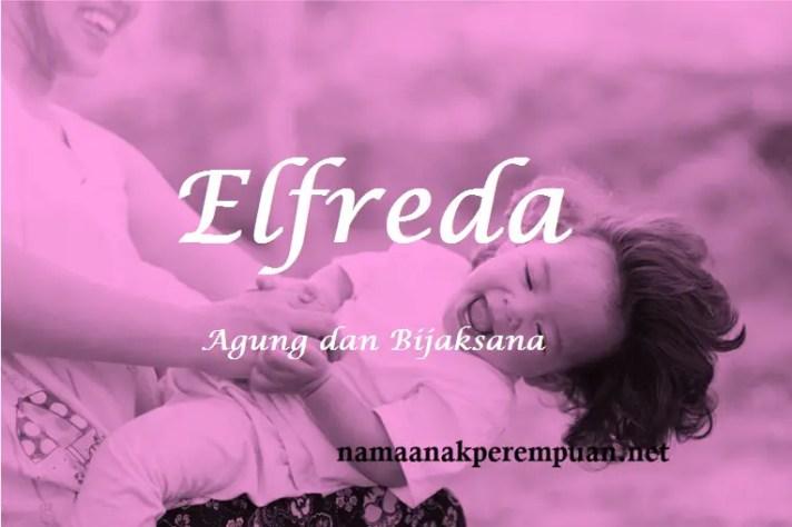 arti nama Elfreda