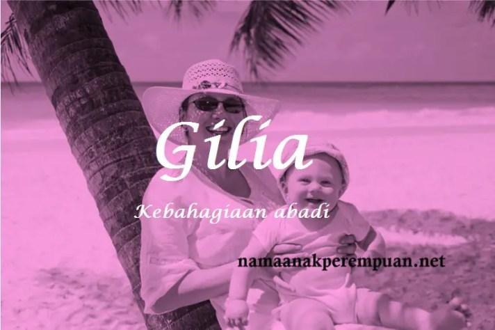 arti nama Gilia