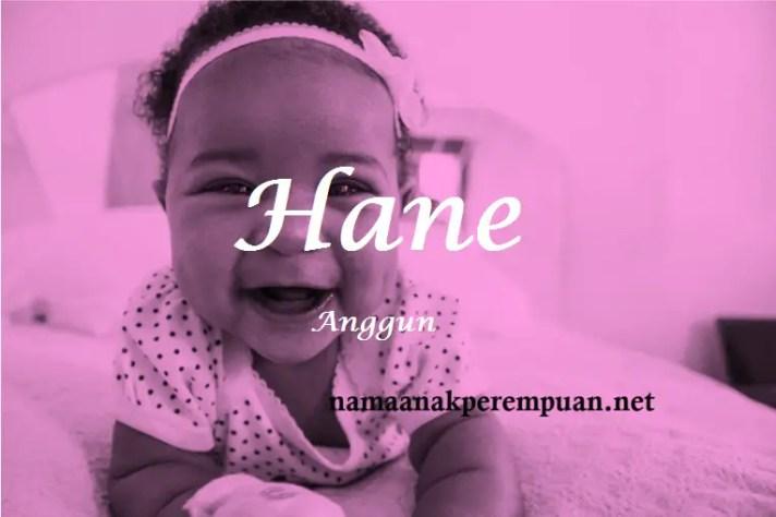 arti nama Hane