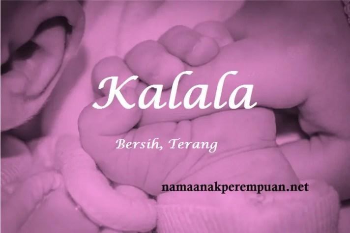 arti nama Kalala