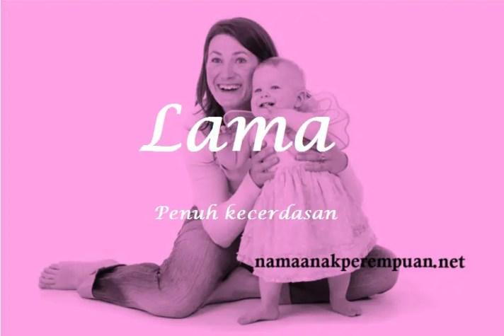 arti nama Lama