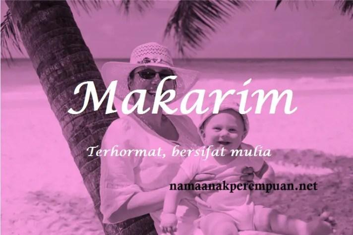 arti nama Makarim