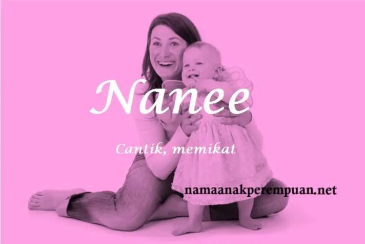 arti nama Nanee